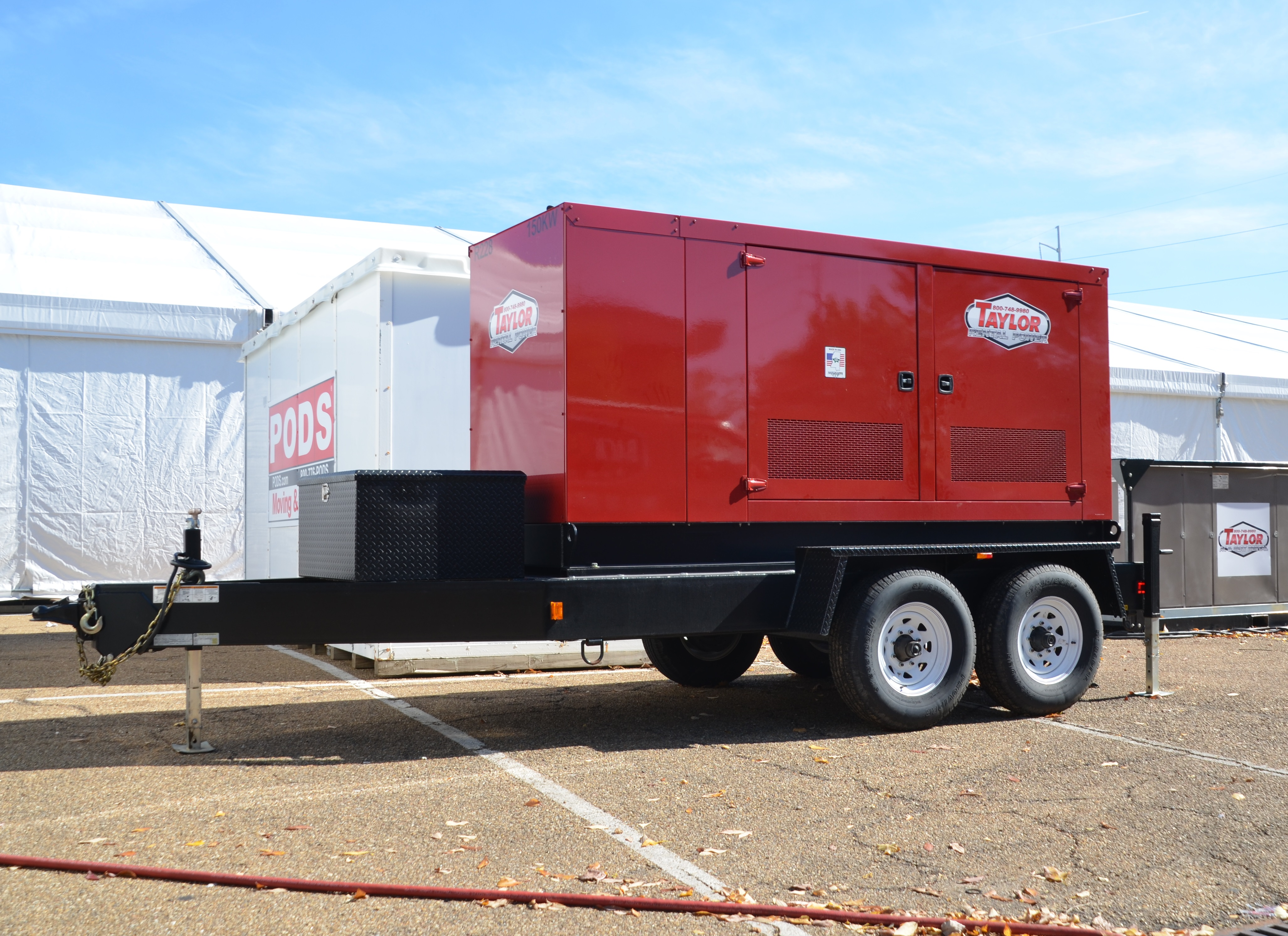 Rental Generators - Taylor Power Systems