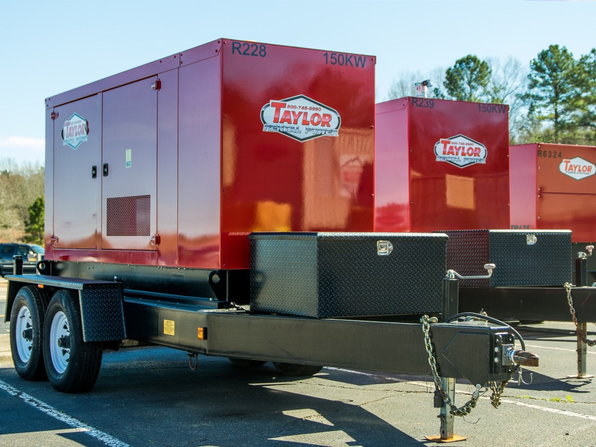 Rental Generators - Taylor Power Systems