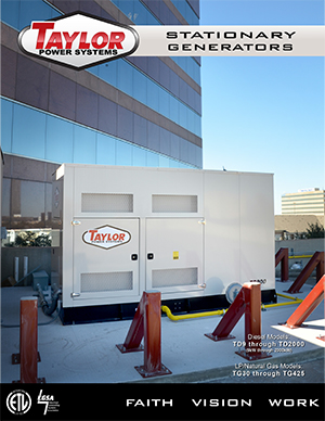 Information about TD and TG Series Standby Generators, Click to Open