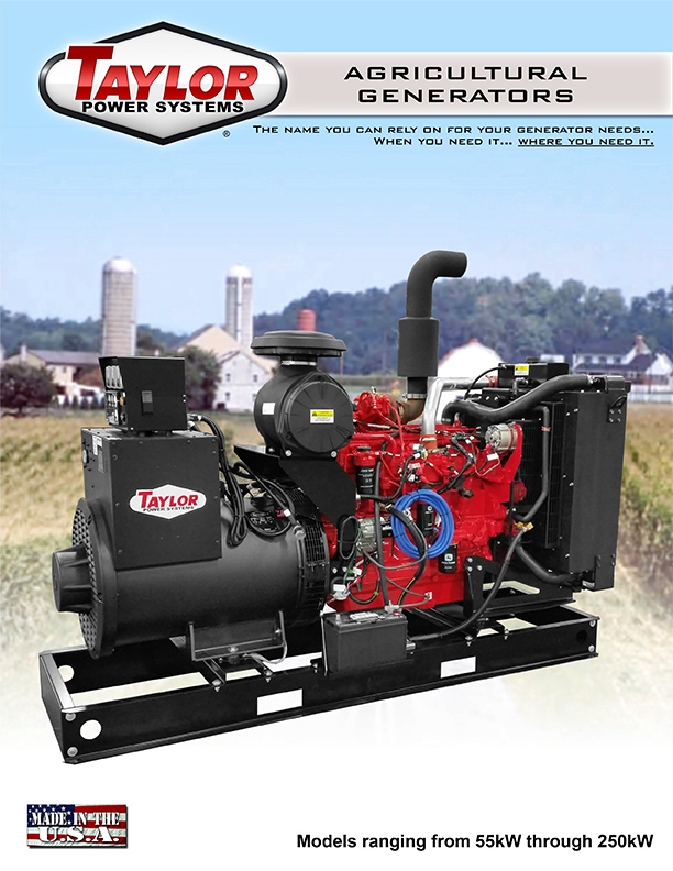 Information about our Poultry/Agriculture Generators, Click to Open