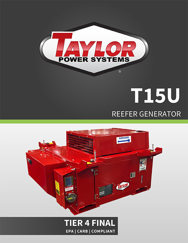 Information about our Reefer/Underslung Generators, Click to Open