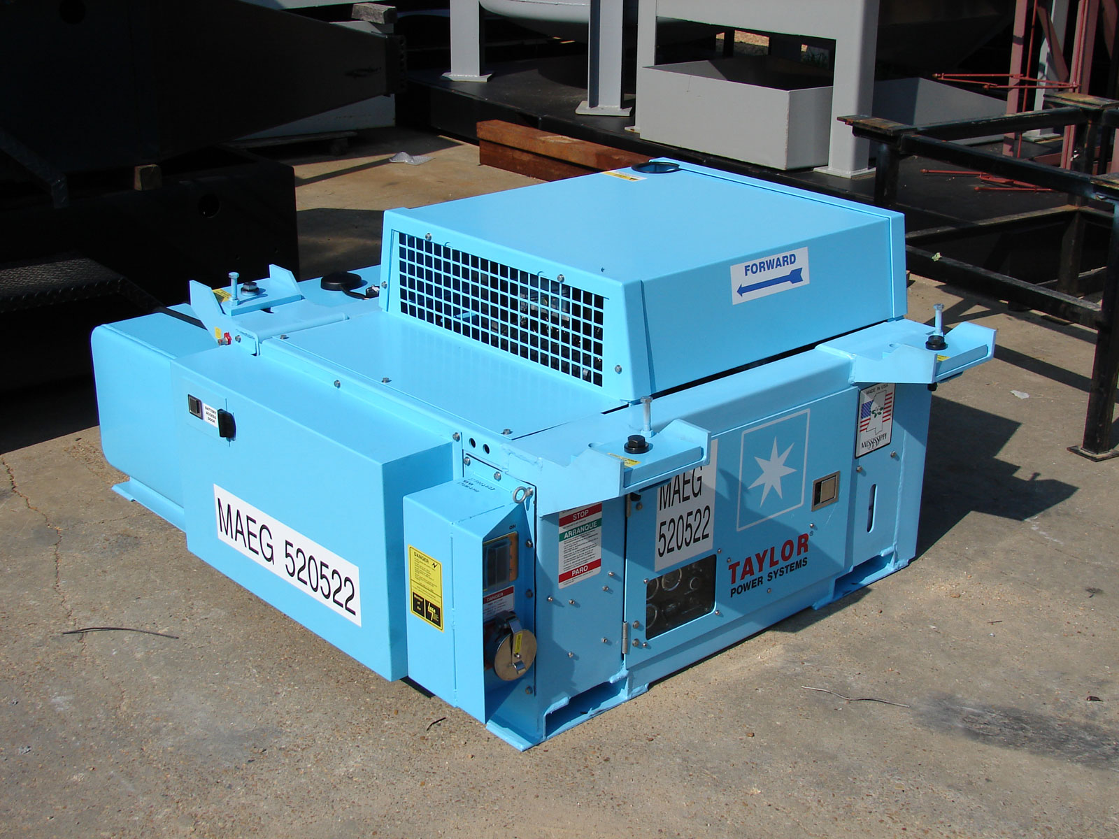 Reefee Underslung Generators Taylor Power Systems